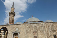 Lalapasa Mosque in Erzurum. Royalty Free Stock Photography