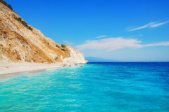 Lalaria Beach, Skiathos, Greece Royalty Free Stock Image