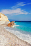 Lalaria Beach, Skiathos, Greece Stock Image