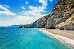 Lalaria Beach, Skiathos, Greece. Lalaria Beach, Skiathos Island, Greece stock photo