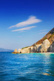 Lalaria Beach, Skiathos, Greece Stock Photo