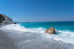 Lalaria d'île de Skiathos Grèce Photos stock