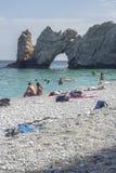 Lalaria plaża zdjęcia royalty free