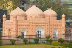Lalbagh堡垒清真寺,达卡,孟加拉国 免版税图库摄影