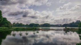 Lalbagh, Bengaluru un jardin et une destination historiques sereins de touriste Image libre de droits