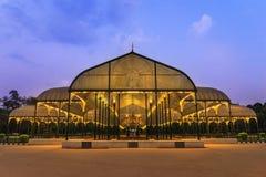 Lalbagh park w Bangalore mieście Obrazy Royalty Free