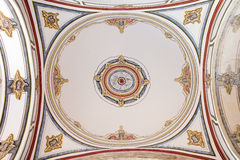 Laleli Mosque Ceiling Painting Royalty Free Stock Photo