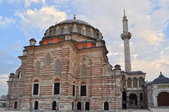 Laleli Mosque in Istanbul. Over blue sky Royalty Free Stock Photo