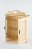 Lali drewniana garderoba Obrazy Stock