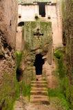 Lalibela in Äthiopien lizenzfreie stockfotografie