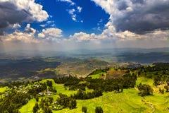Lalibela Abune Yoseph plateau, Etiopia Obraz Royalty Free