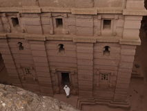 Lalibela churches Royalty Free Stock Image