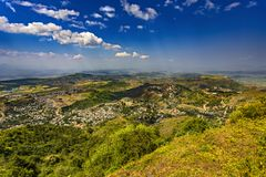 Lalibela, Ethiopië stock fotografie