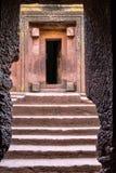 Lalibela, Ethiopia. Famous Rock-Hewn Church of Saint George - Bete Giyorgis stock photos