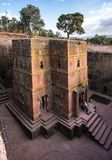 Lalibela, Ethiopia. Famous Rock-Hewn Church of Saint George - Bete Giyorgis stock photos
