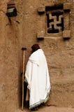 Lalibela Etiopien Fotografering för Bildbyråer