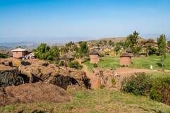 Lalibela village Royalty Free Stock Images
