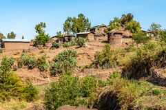 Lalibela village Stock Images