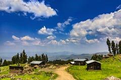 Lalibela wieś, Etiopia Obrazy Royalty Free