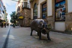 Lalin, Spanien - Februar 2018 lizenzfreie stockfotografie