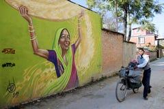 Lalithpur, Katmandou photos stock