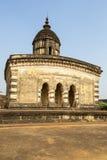 Lalji寺庙在Bishnupur 免版税库存图片