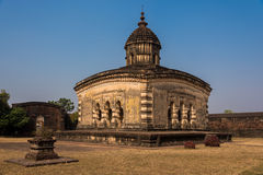 Lalji寺庙Bishnupur 免版税库存照片