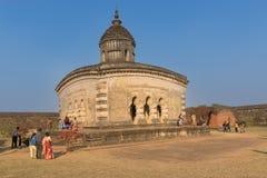 Laljitempel - Bishnupur Stock Foto