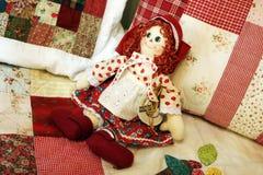 lalka patchwork Obraz Stock