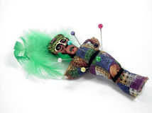 lalka voodoo. zdjęcie stock