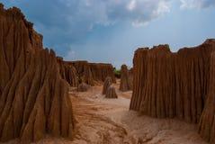 Lalu Canyon, Sa Kaew, Thailand Stockbilder