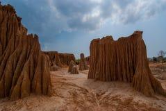 Lalu Canyon, Sa Kaew, Thailand Lizenzfreie Stockbilder