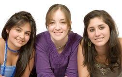 όμορφα κορίτσια πέρα από το &lam Στοκ εικόνα με δικαίωμα ελεύθερης χρήσης