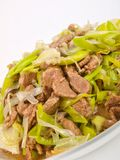 Lam with Celery stock images