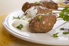 Lam Kebab Stock Foto's