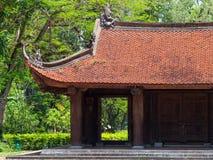 Lam Kinh tempel i Thanh Hoa, Vietnam royaltyfri foto