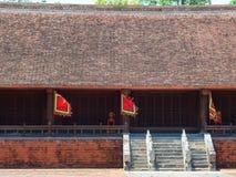 Lam Kinh tempel i Thanh Hoa, Vietnam royaltyfri bild