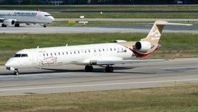 5A-LAM lignes aériennes libyennes, bombardier CRJ-900 Images stock
