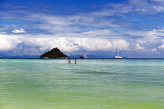 Lam Tong Beach arkivbilder