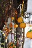 Lam Tsuen Wishing Oranges stock afbeeldingen