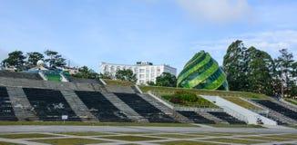 Lam Vien Square in Dalat, Vietnam. View of Lam Vien Square in Dalat, Vietnam Royalty Free Stock Image