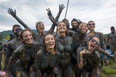 """Lama Bloco DA †""""schmutziger Karneval in Paraty, Rio de Janeiro State Stockfotos"""