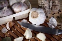 Lama con aglio Immagine Stock