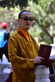 Lama del Tibet Fotografie Stock