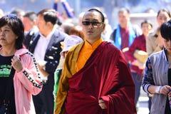 Lama du Thibet photos stock
