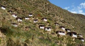 Lama House. In Lamasery, Gansu Stock Images