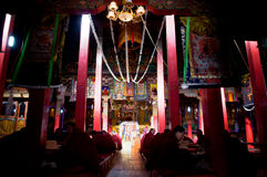 Lama i świątynie Zdjęcia Stock
