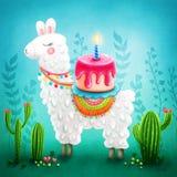 Lama mignon Image stock