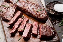 Lama o bistecca superiore di Denver fotografia stock libera da diritti
