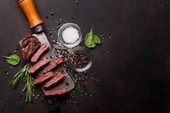 Lama o bistecca superiore di Denver immagini stock libere da diritti